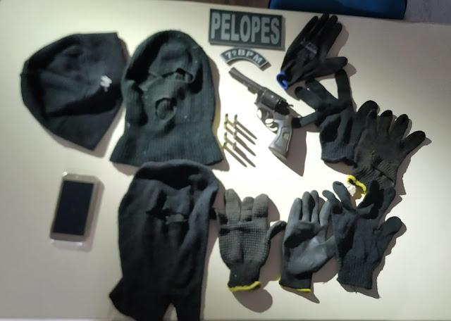 Homem é preso em Olivença  por porte ilegal de arma de fogo e munições