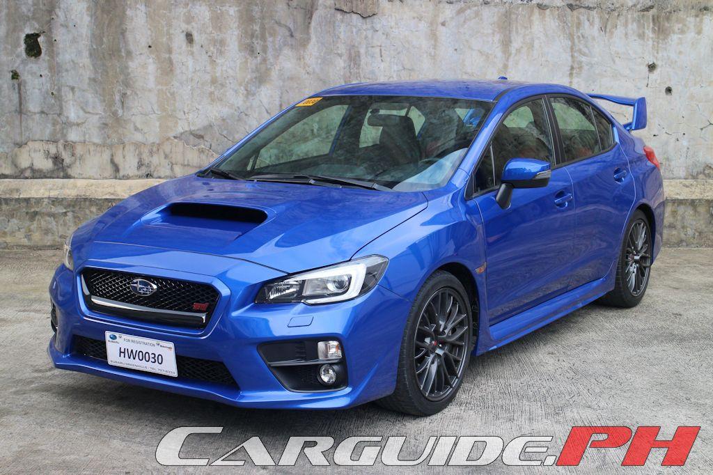 Review  2015 Subaru Wrx Sti