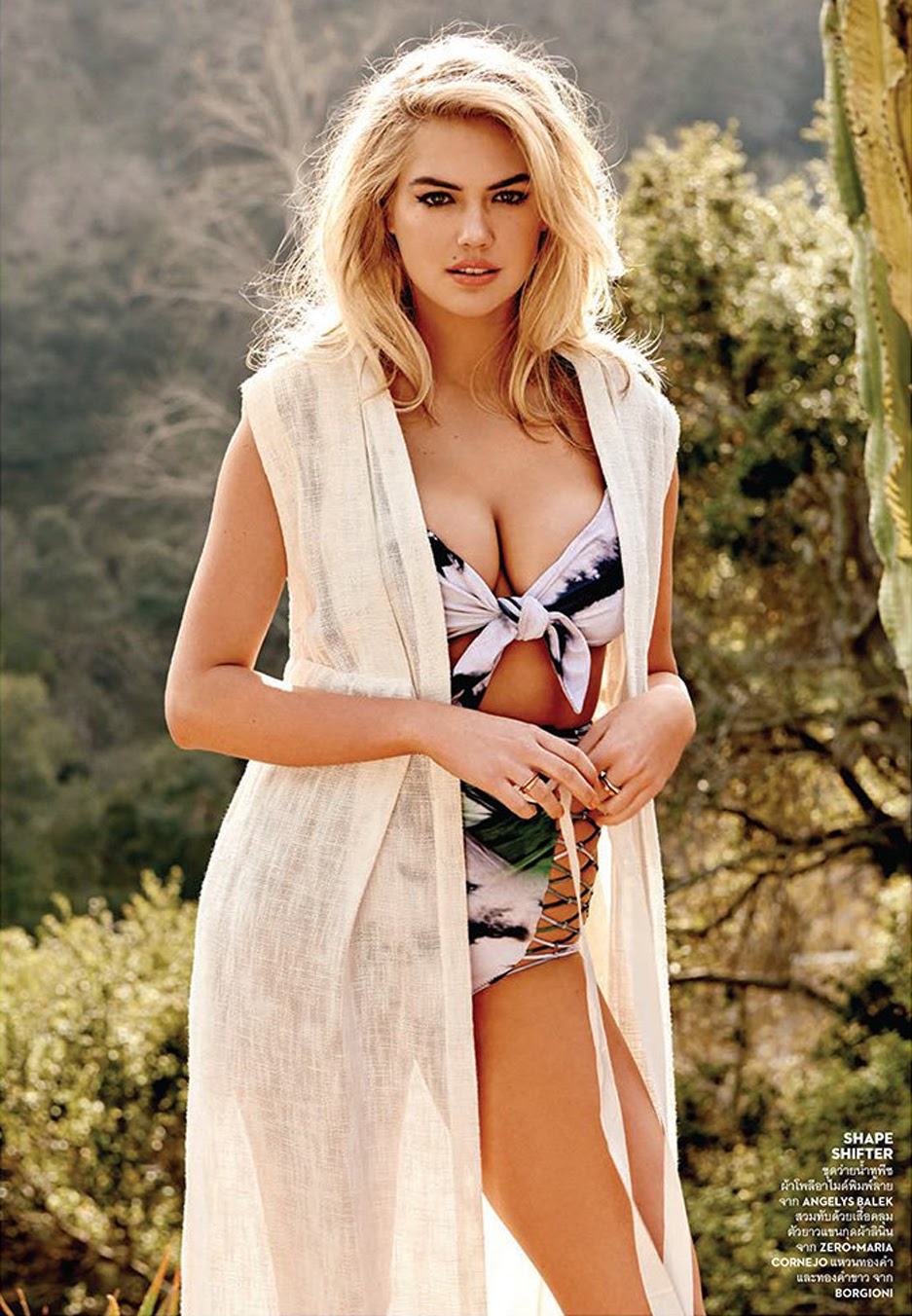 Kate Upton in Thai Vogue Magazine