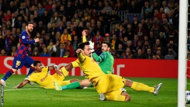 Barcelona 3 - 1 Dortmund champions league highlght