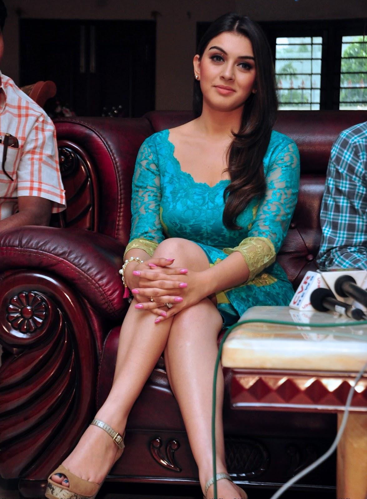 Pranitha Subhashs Milky Thighs In Latest Photoshoot - Hot