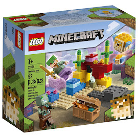 Minecraft The Coral Reef Regular Set