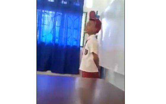 Video Siswa SD Bersuara Merdu Lantunkan Sholawat Ini Mendadak Viral