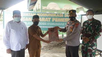 Kegiatan Komsos Kodim 0105/Aceh Barat Dengan Aparat Pemerintah