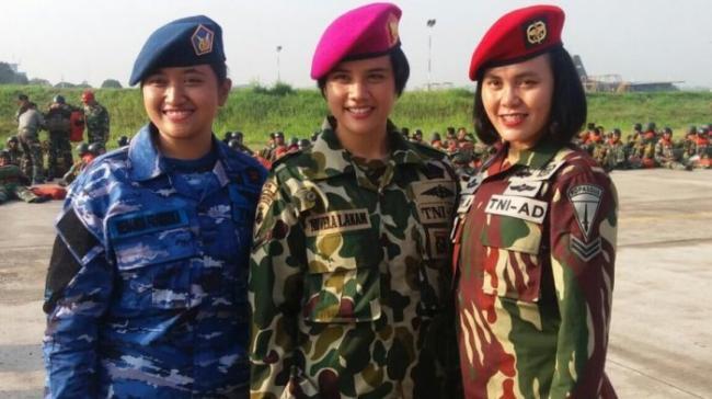 Syarat Wanita Jika Ingin Menjadi Anggota TNI