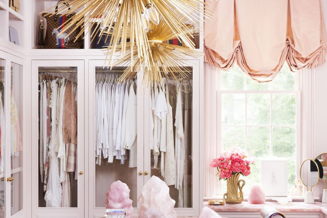 Closets & A Touch Of Pink