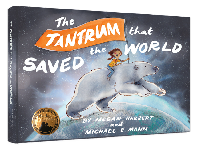 Climate change picture books for kids Earth Day