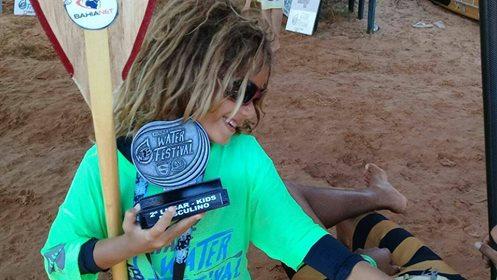 Surfista mirim de Amargosa e Itacaré está sem treinar e sem auxílio