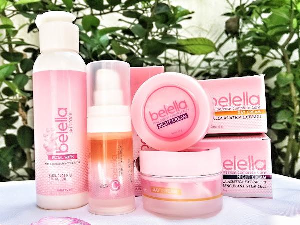 Review : Belella, Skincare Anti Aging dengan Teknologi Stemcell Korean Panax Ginseng
