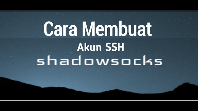 ssh shadowsocks