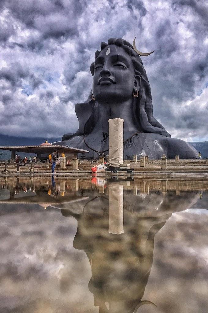 Adiyogi Shiva statue Coimbatore