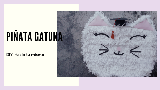 DIY: Piñata de Gato