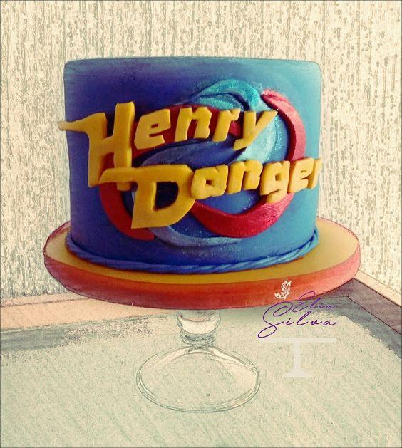 Bolo Aniversário Henry Danger
