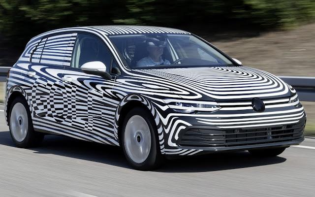 Novo VW Golf 2020 (mk8) terá motor diesel limpo