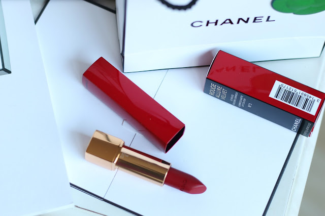 chanel numeros rouges