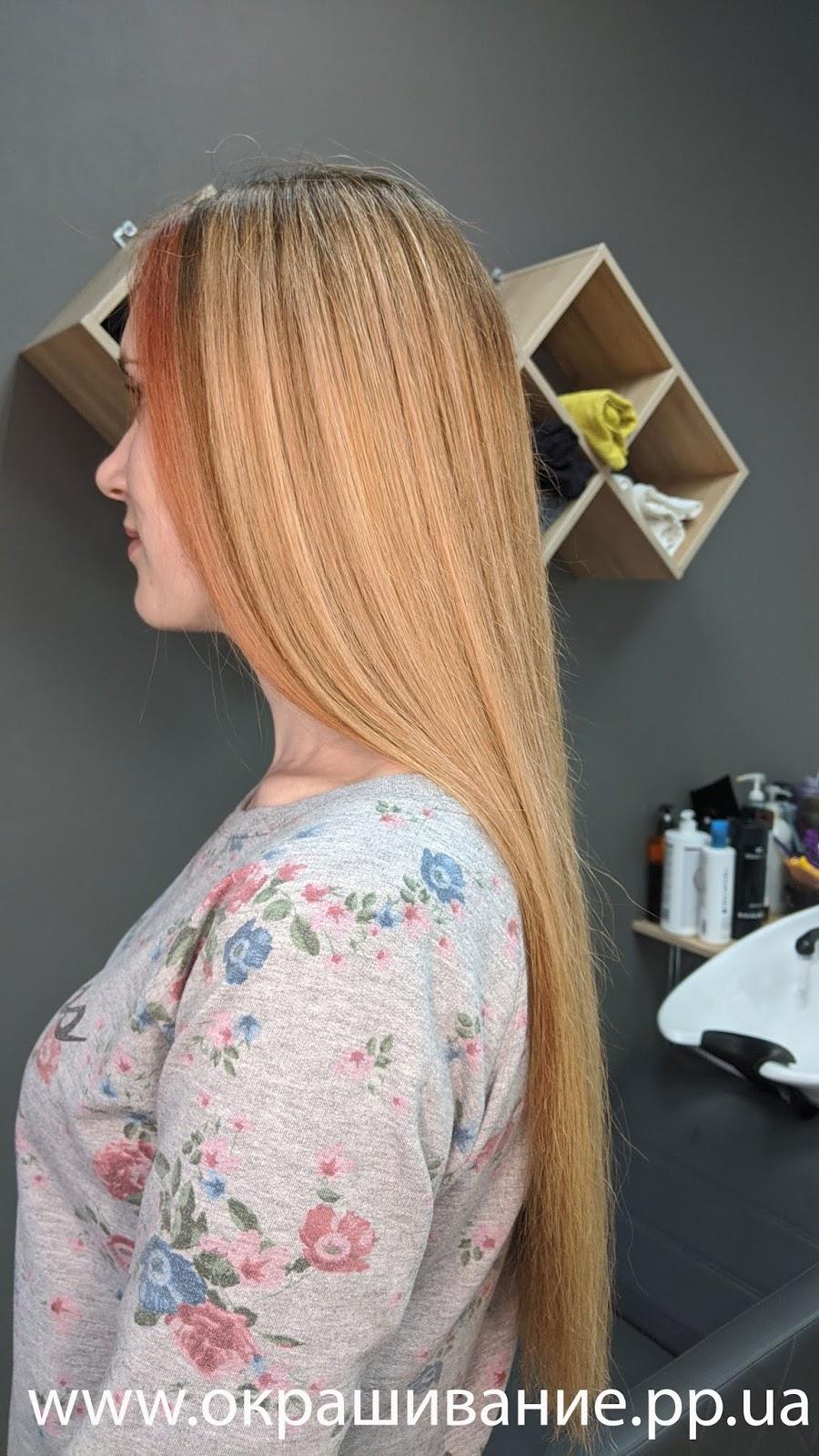 Модное окрашивание волос для блондинок 2020