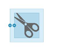 change icon size windows 10