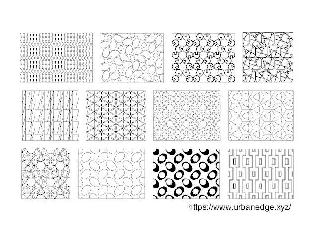 Seamless geometrical pattern jaali cad blocks download, 10+ Jaali cad blocks