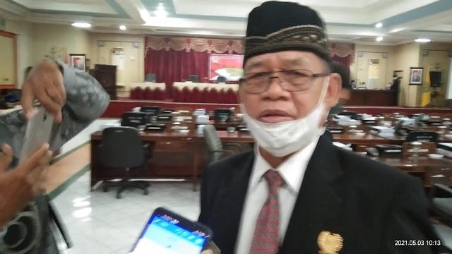Begini Ucap Ketua Pansus Pada Rapat Paripurna Dengan Agenda Penyampaian Keputusan DPRD Bartim Terkait LKPJ Kepala Daerah