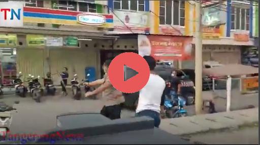 Video: Ditembaki Dan dikelilingi Polisi Si Lae Ini Tidak Takut dan Melawan
