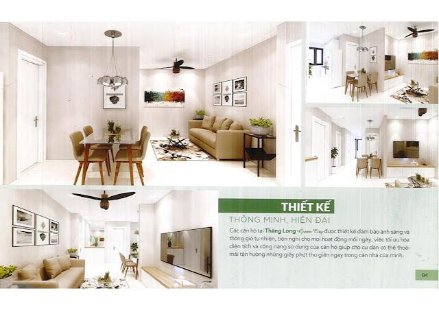 Giá bán thuê mua nhà ở xã hội Thăng Long Green City Kim Chung Đông Anh