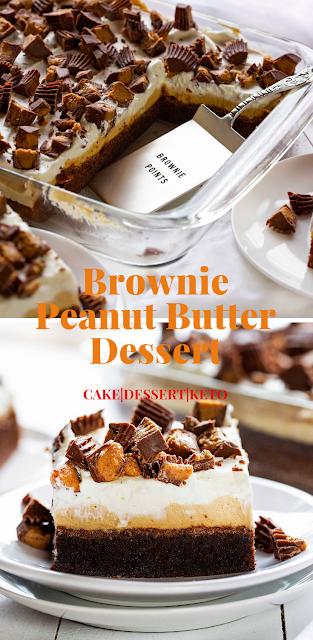 Brownie Peanut Butter Dessert