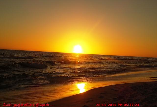 Destin Beach Sunset View