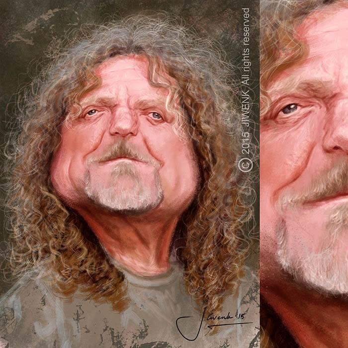 Robert Plant por Jiwenk