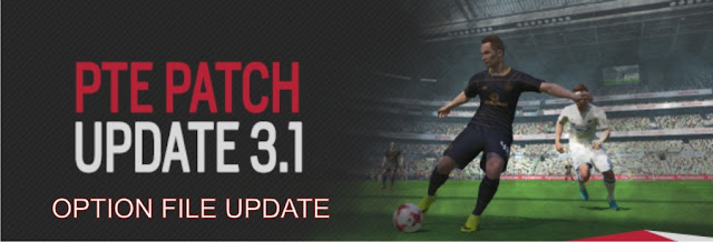 PES 2017 PTE 3.1 Option File created/edited by Sayyid Hawazin