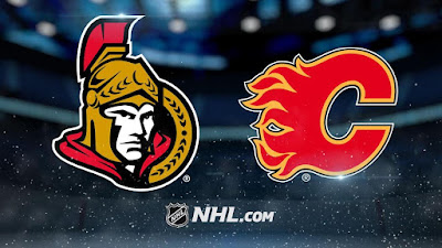 NHL : Sens Welcome the Flames Thursday Night