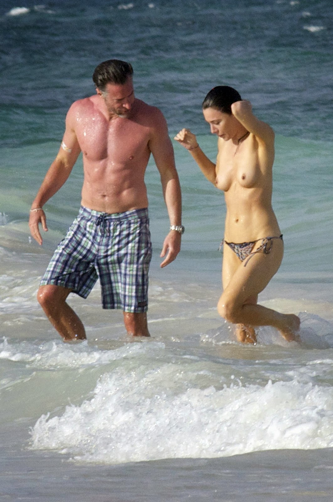 Jaime murray bikini One the