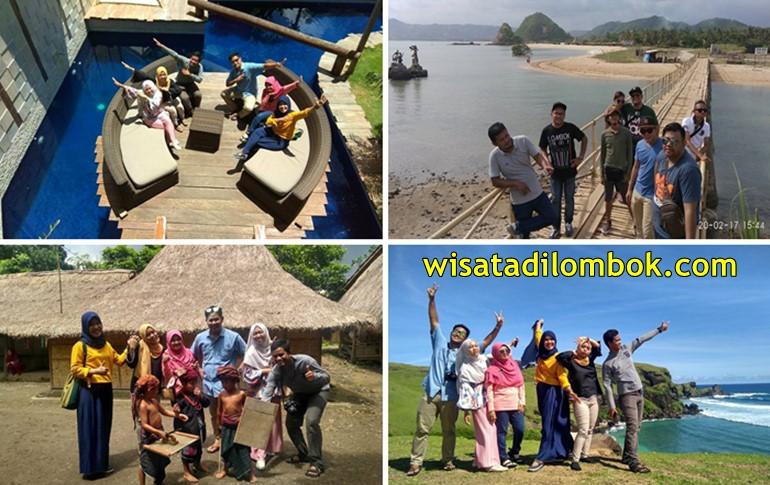 Mengunjungi Beberapa Objek Wisata di Lombok Tengah