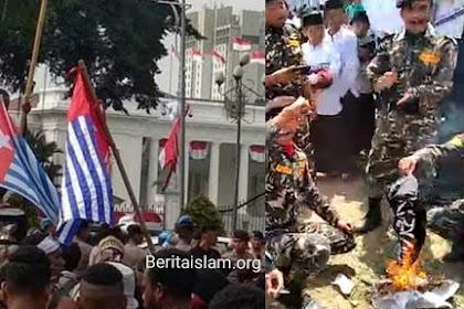 Bendera Tauhid Dituding Makar dan Dibakar, Kenapa Bungkam saat Bintang Kejora Berkibar?