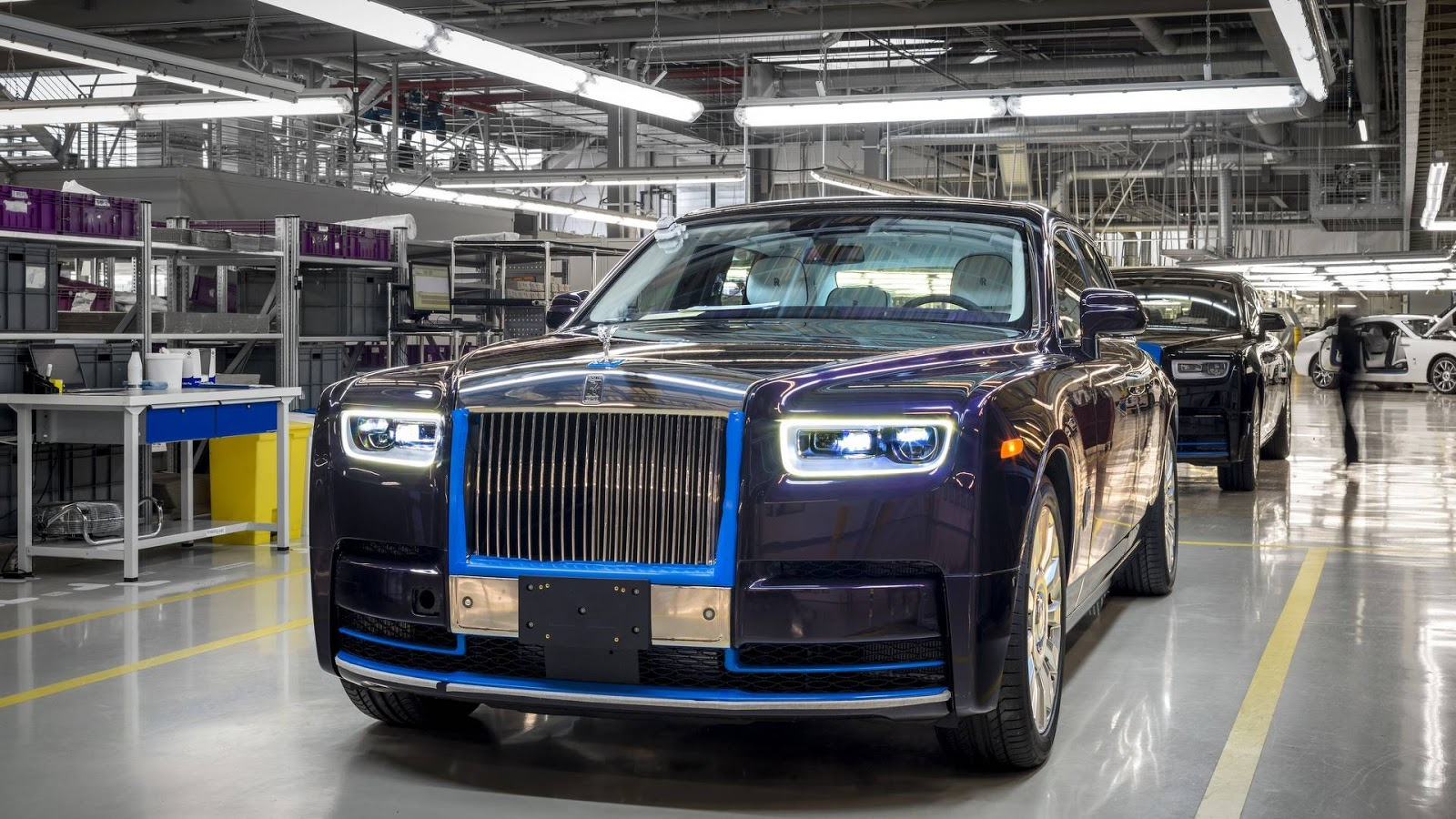 First 2018 Rolls-Royce Phantom Heading To Auction In January