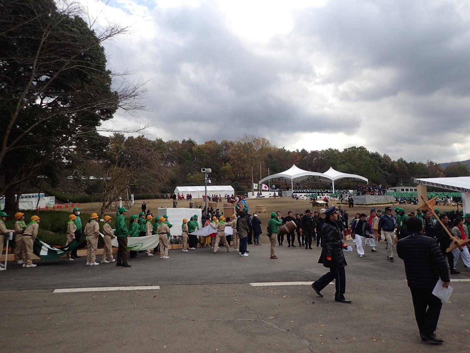 「第41回全国育樹祭」に参加。森林ボランティア代表として「誓いの言葉」を述べる