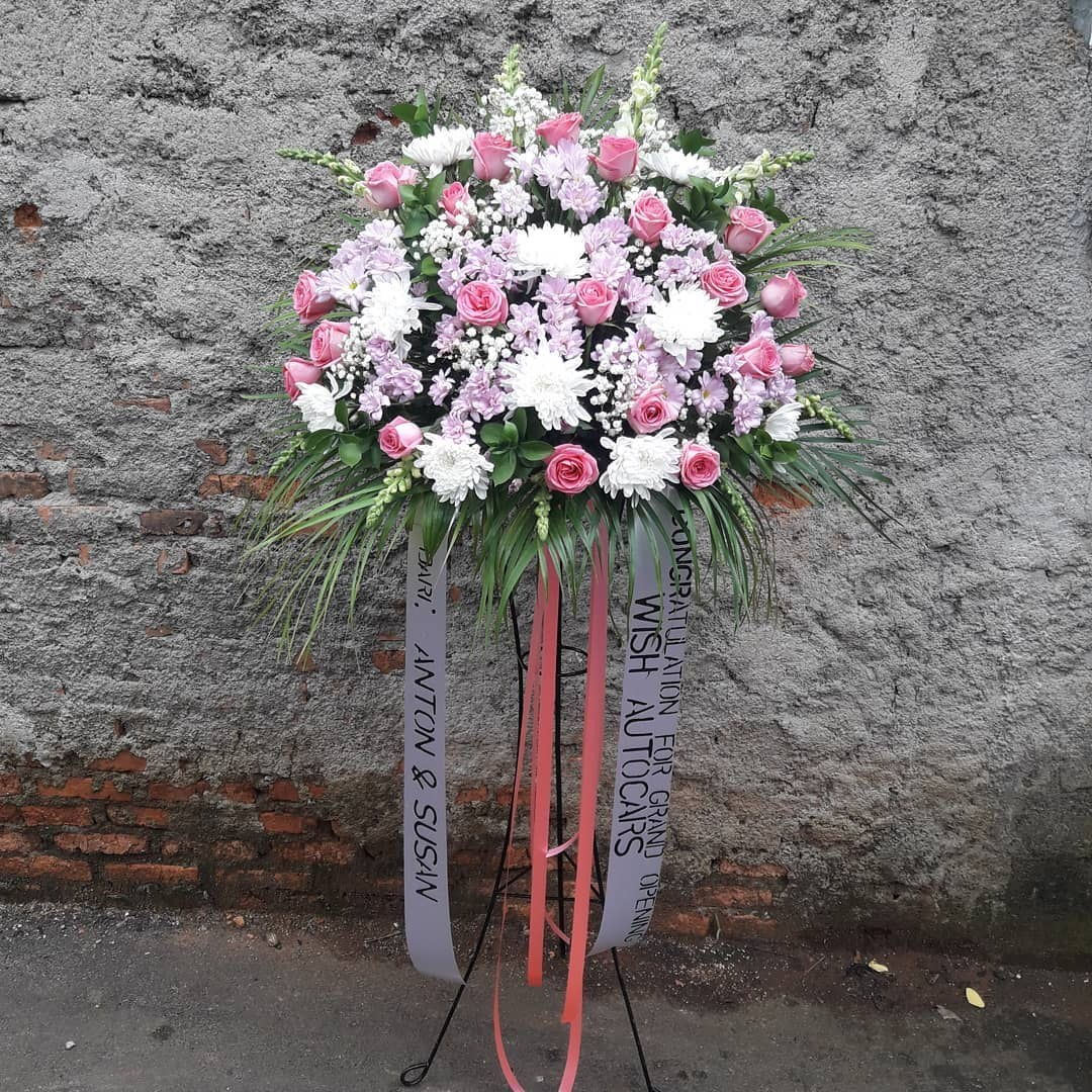 Karangan Bunga Standing Flowers 013