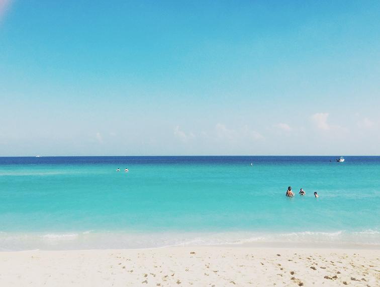 Miami Beach South Ocean Aqua Blue Water