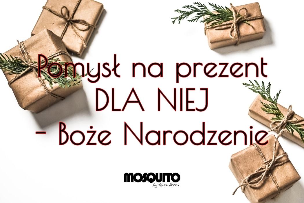 Pomysł na prezent DLA NIEJ - MOSQUITO - Boże Narodzenie