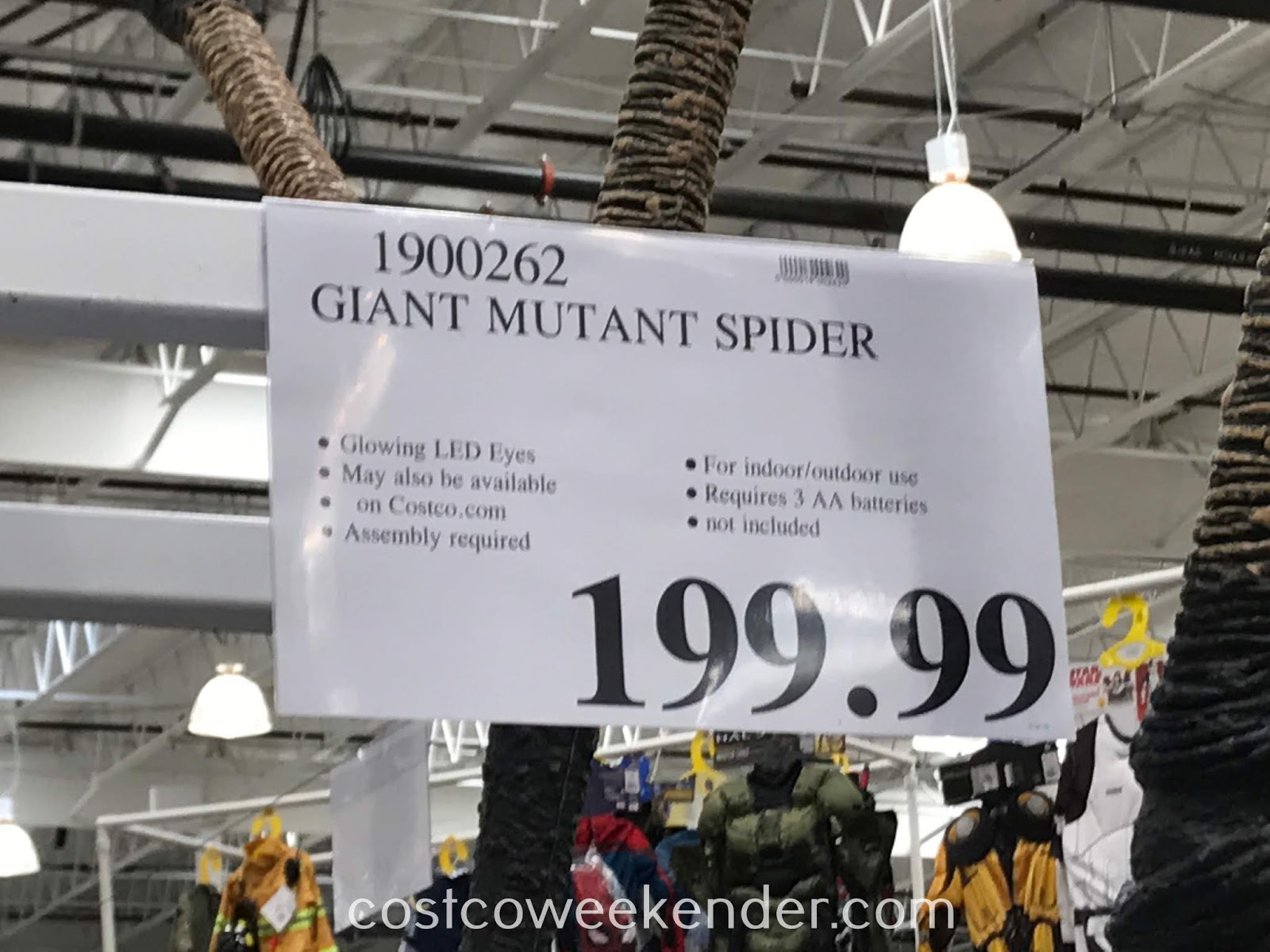 Deal for the Giant Mutant Spider at Costco