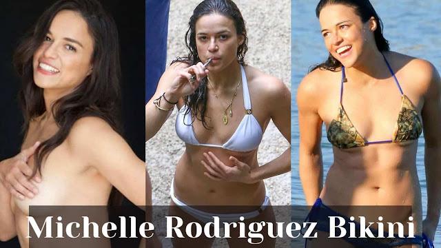 Michelle Rodriguez Sexy Bikini Photos