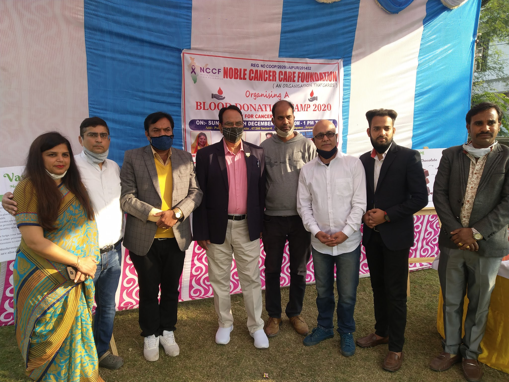 Blood-donation-camp-organized-by-Noble-Cancer-Care-Foundation-in-the-city-Jaipur