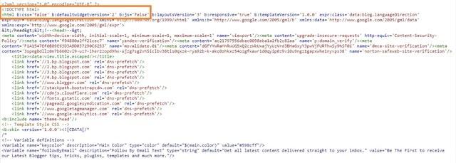 Eliminate Render Blocking Resources Blogger Setting