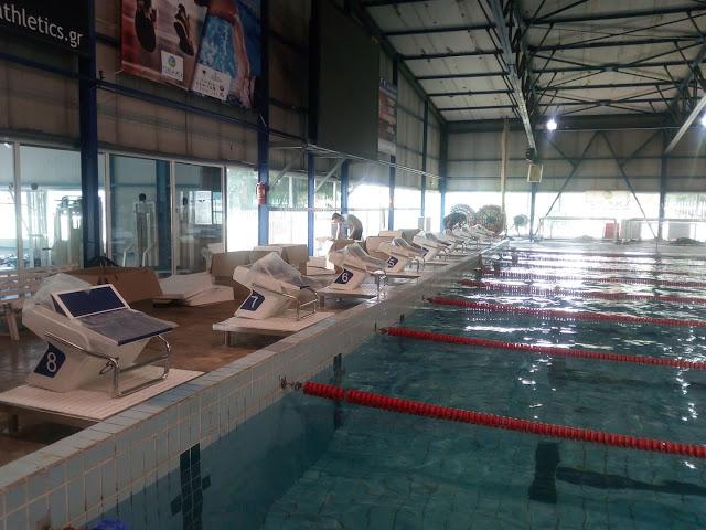 Γιάννενα: Τοποθετήθηκαν Οι Ηλεκτρονικοί Βατήρες Στο Κολυμβητήριο Της Λιμνοπούλας