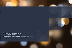 SPSS Amos - Test Models, Hypothesis, Validity (and More)