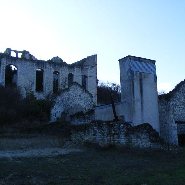Bellais lime kiln, Indre et Loire, France. Photo by Loire Valley Time Travel.