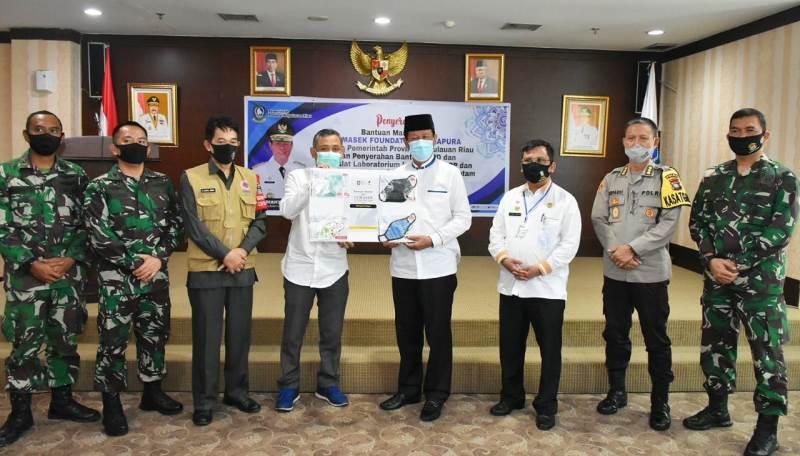 Isdianto Minta Temasek Foundation Bantu PCR untuk Kepri