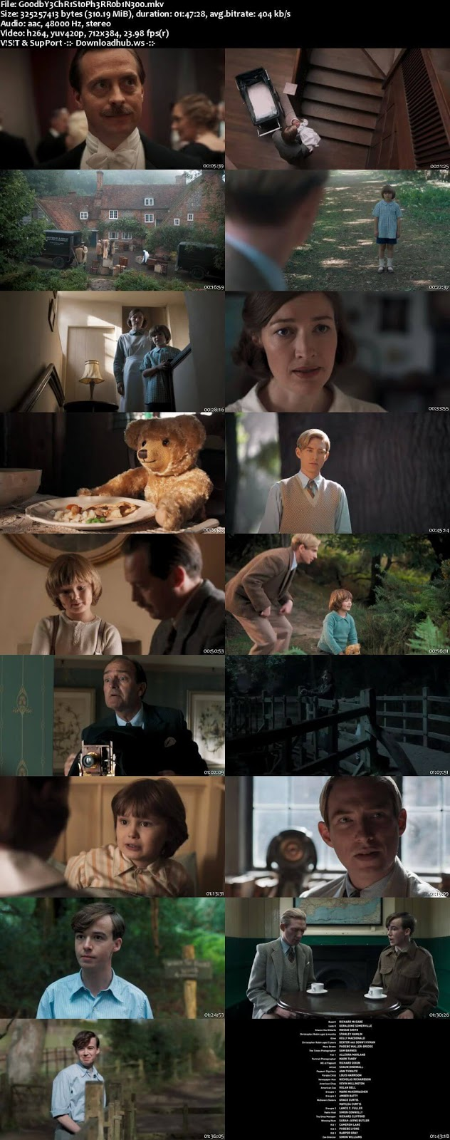 Goodbye Christopher Robin 2017 English 480p Web-DL