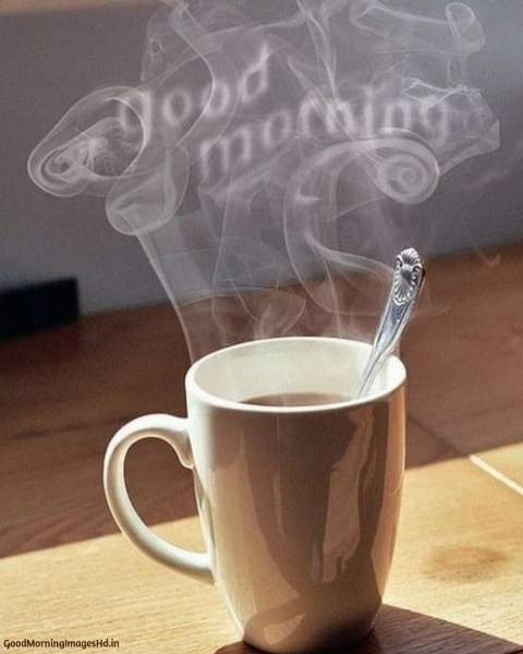 good morning hot coffee images
