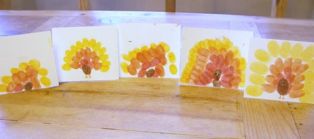 turkey placecards