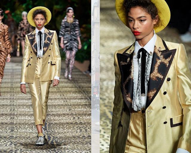 Dolce & Gabbana весна-лето 2020 Показ моды 11